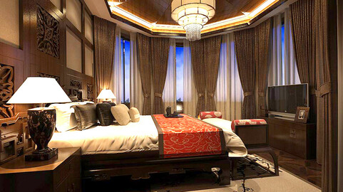 Stylish bedroom complete 88
