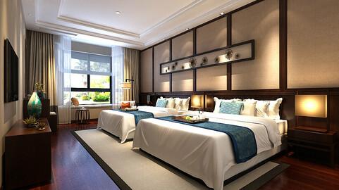 Stylish bedroom complete 94