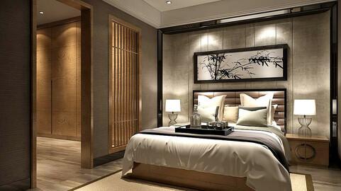 Stylish bedroom complete 96