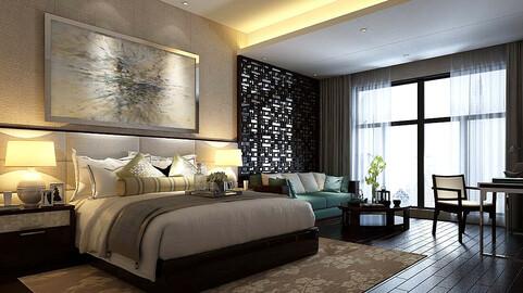 Stylish bedroom complete 98