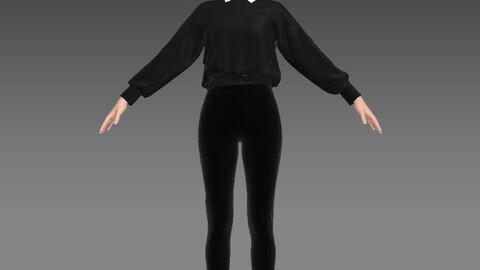 urban woman dress