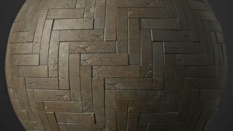 Old Wood Floor Material