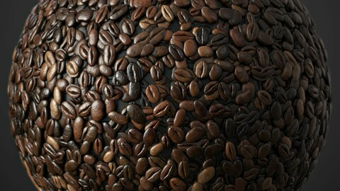 Coffee Beans Material