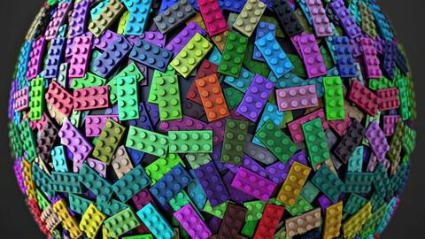 Lego Bricks Material