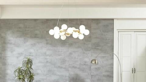 The Well 20 interior lighting