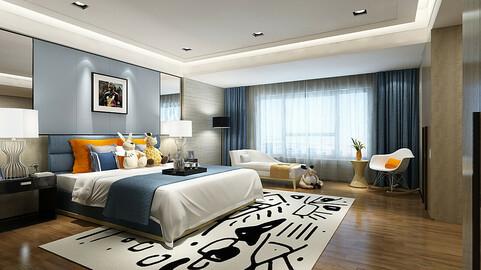 Stylish bedroom complete 210