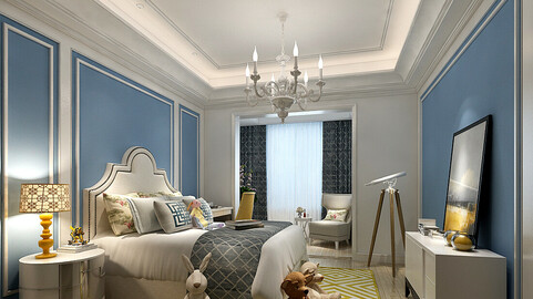 Stylish bedroom complete 212