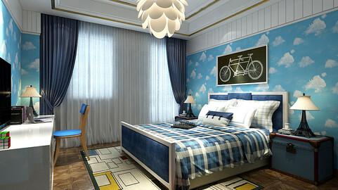 Stylish bedroom complete 213