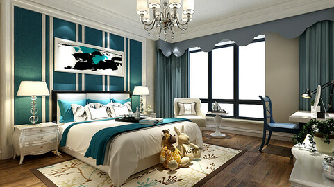 Stylish bedroom complete 215