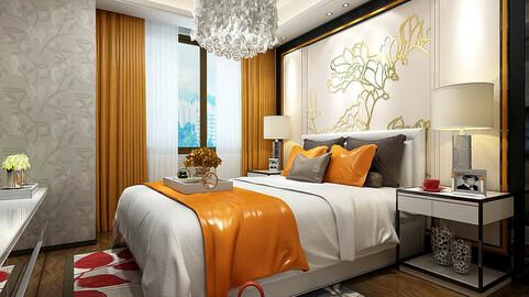 Stylish master bedroom design  06