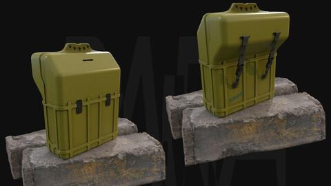Crate N°1 - Gameready 3D Model