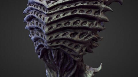 TORSO17 high poly sculpt