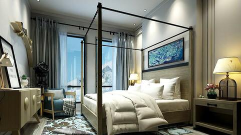 Stylish master bedroom design  39