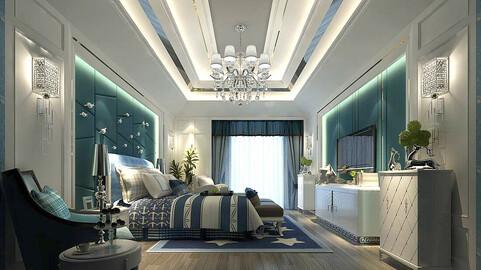 Stylish master bedroom design  46