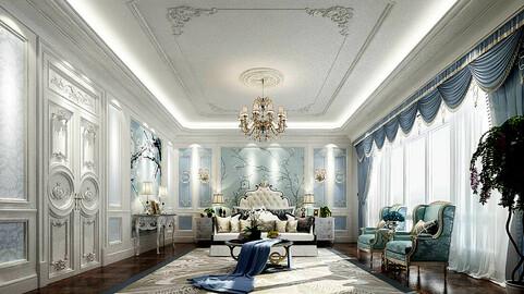 Stylish master bedroom design  48
