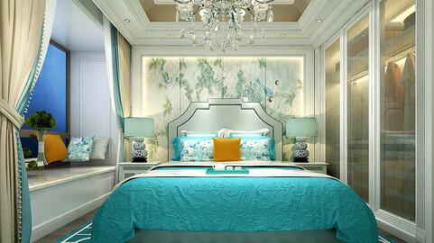 Stylish master bedroom design  57