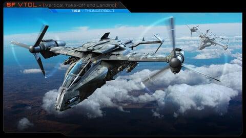 SF VTOL - A50 Thunderbolt