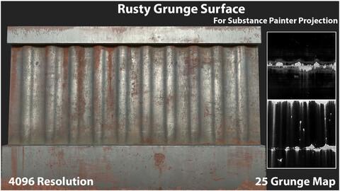 Rusty Grunge Surface