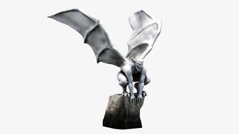 Gargoyle Statue PBR Game Ready