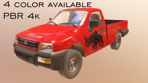 Pickup Truck PBR 3D model