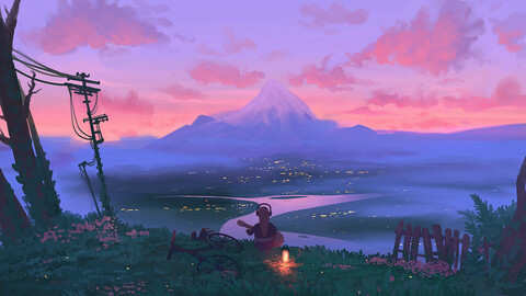 Anime arts for novellas