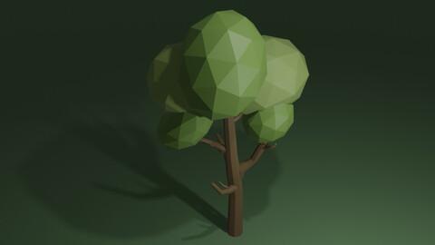 Tree low-poly