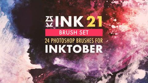 INK Brush Set for INKTOBER 2021