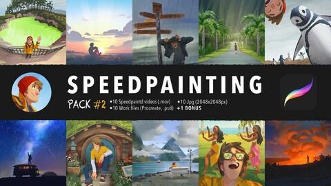 Speedpainting Pack #2