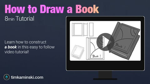 Tutorial: How to Draw a Book