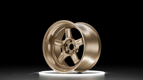 RAYS VOLK RACING 21C Car wheel 3D model