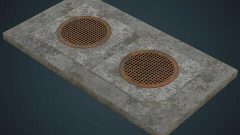 Manhole 2B
