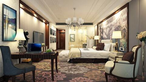 Luxurious stylish bedroom 24