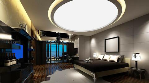 Luxury stylish interior master Bedroom - 04