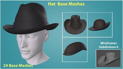 Hat Base Meshes