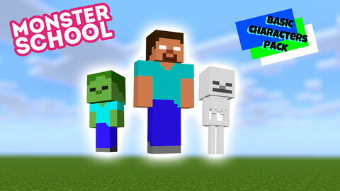 Monster School Characters Basic Pack