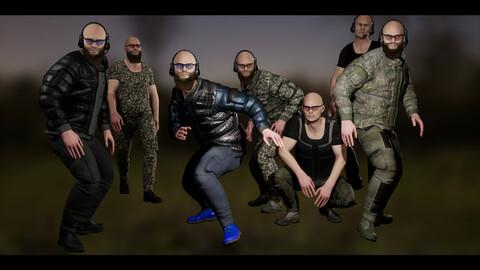 Character Military bandit3