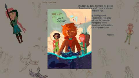 The Art of Fox's Odyssey | Digital ArtBook