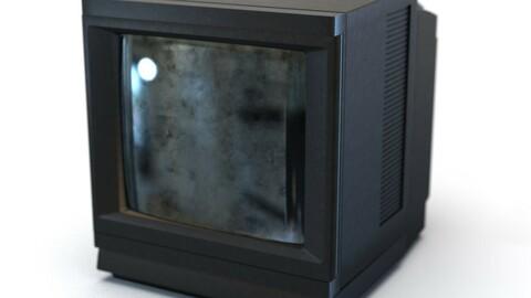 Retro CRT Television