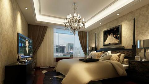 Luxury stylish interior master Bedroom - 83