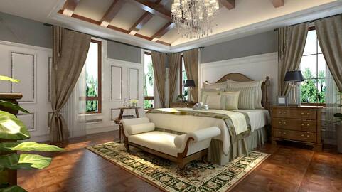 Luxury stylish interior master Bedroom - 85
