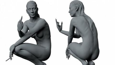 Girl Sculpture