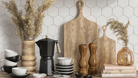 kitchen set (coffee set)