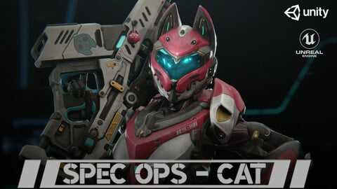 Yui - SpecOps Cat (Realtime Character)
