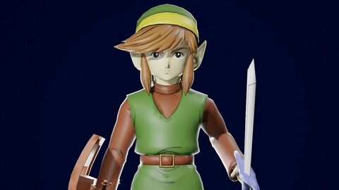 LINK CLASSIC 3D MODEL