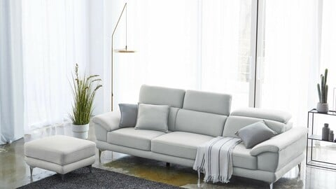Venice 4-seater Aquamagictex fabric sofa