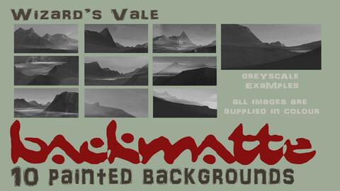 BackMatte Volume 3 - Wizard's Vale