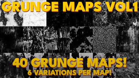 [RESOURCE PACK] Grunge Maps Vol1