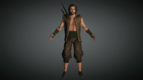 Fantasy Male Character 06