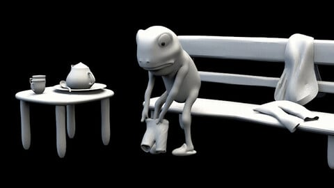 Frog  Jazz up