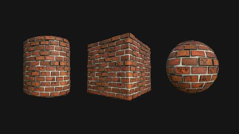 Stylized Wall 3 PBR Texture